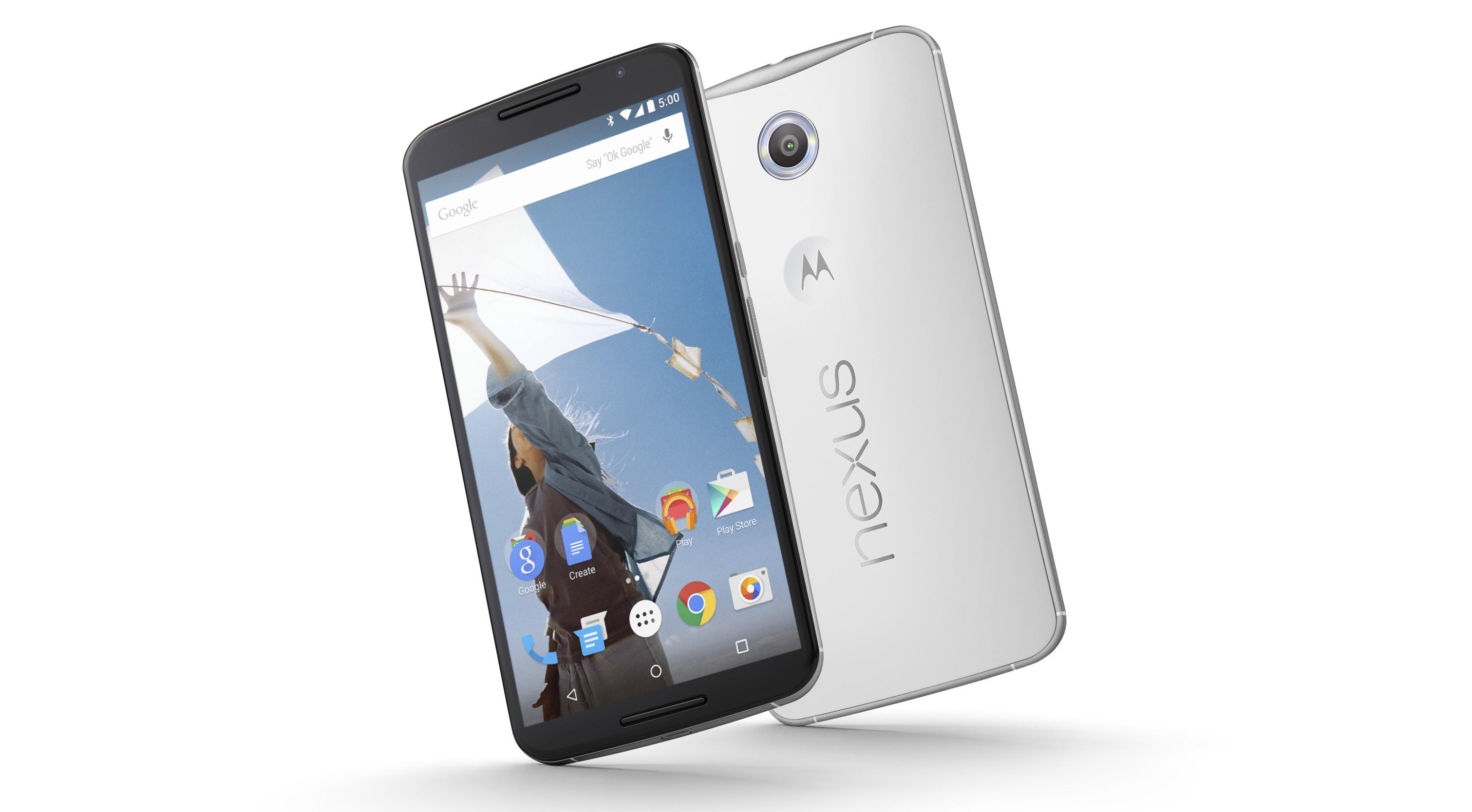 Nexus 6 riceverà a breve l'upgrade ad Android Lollipop 5.1.1