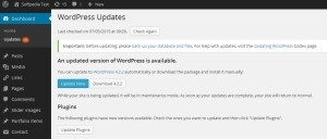 update wordpress 4.2.2 hacker