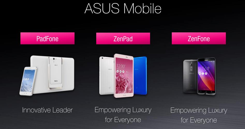 Caratteristiche tecniche degli Asus ZenPad 7