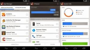 come velocizzare smartphone ccleaner