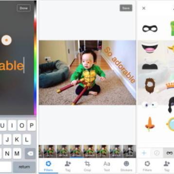 Facebook rilascia su iOS il suo editor fotografico
