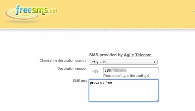 Come inviare sms illimitati gratis dal proprio pc