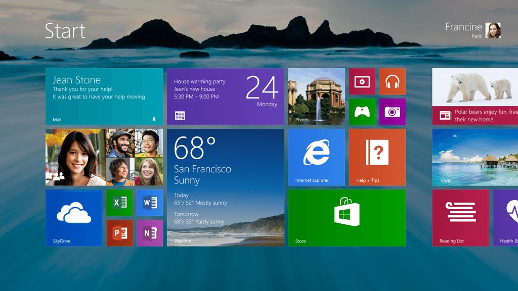 Windows 8.1 recupera quota, complice il futuro passaggio gratuito a Windows 10?