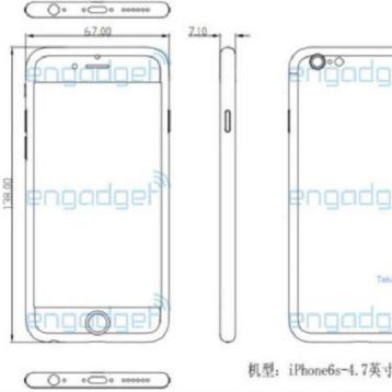 iPhone 6S, sarà più spesso dell'iPhone 6