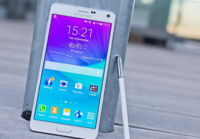 Samsung Galaxy Note 4, l'aggiornamento Android 5.1.1 arriva in Europa