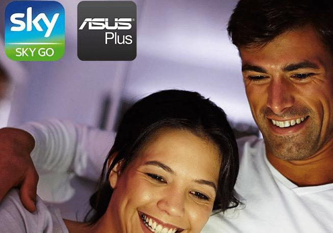 Asus Italia, ecco i modelli compatibili con SkyGo