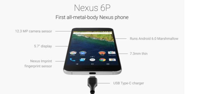 Nexus 6P, tutto su scheda tecnica e prezzo