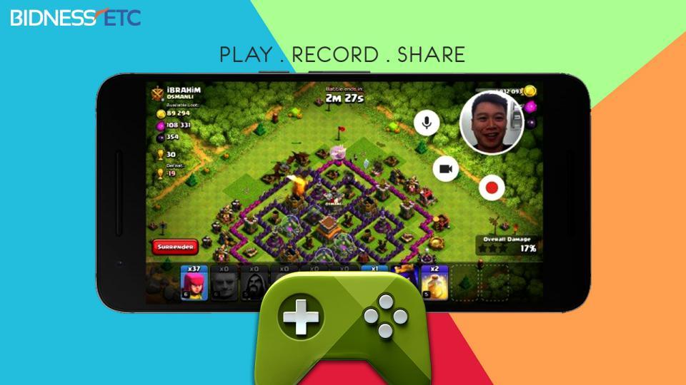 Google Play Games recording