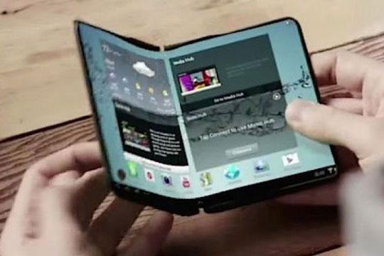 Smartphone pieghevole Samsung: leak
