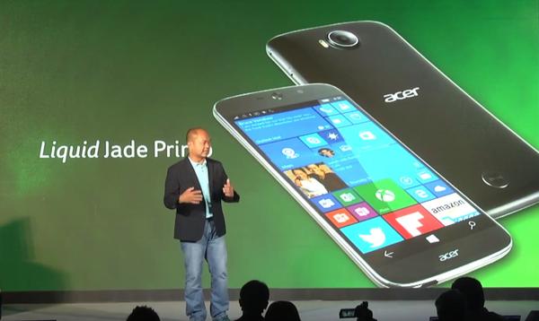Acer svela Liquid Jade Primo
