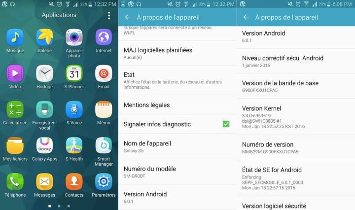 Aggiornamento Samsung Galaxy S5 a Marshmallow, altro errore?