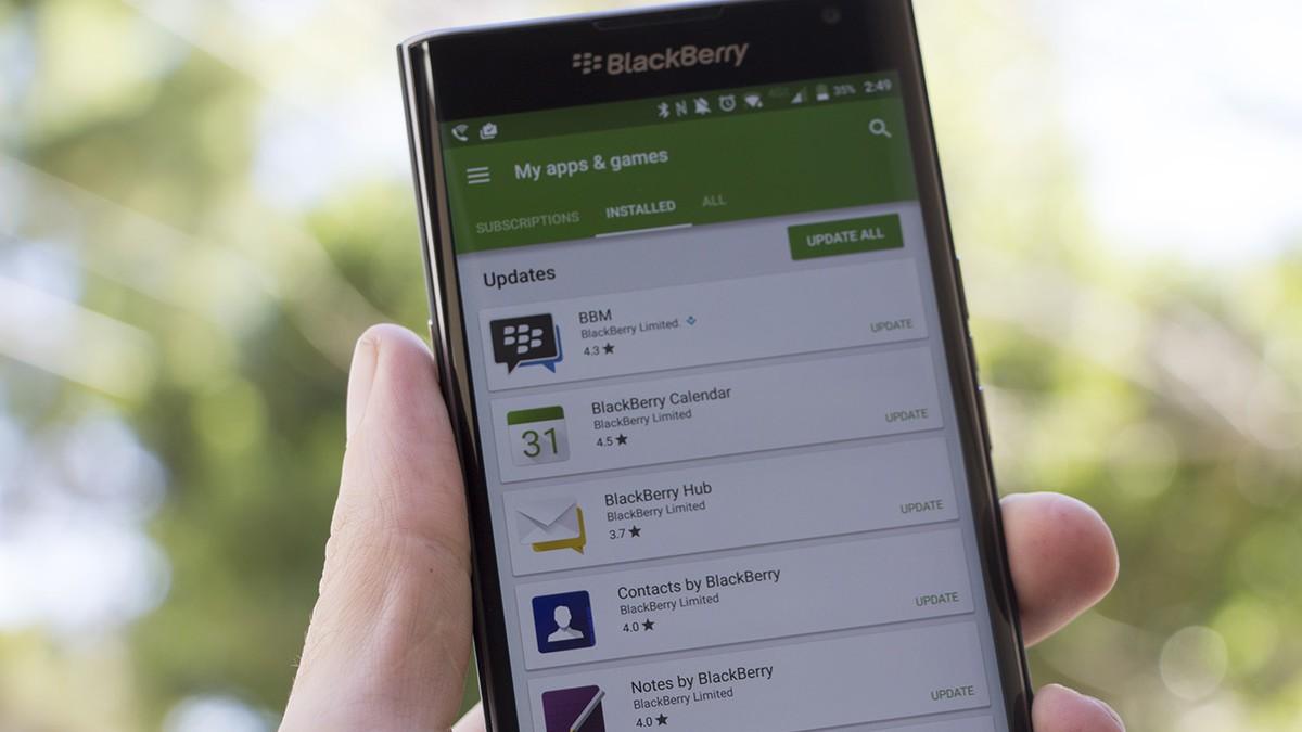 BlackBerry Priv aggiorna le sue app principali