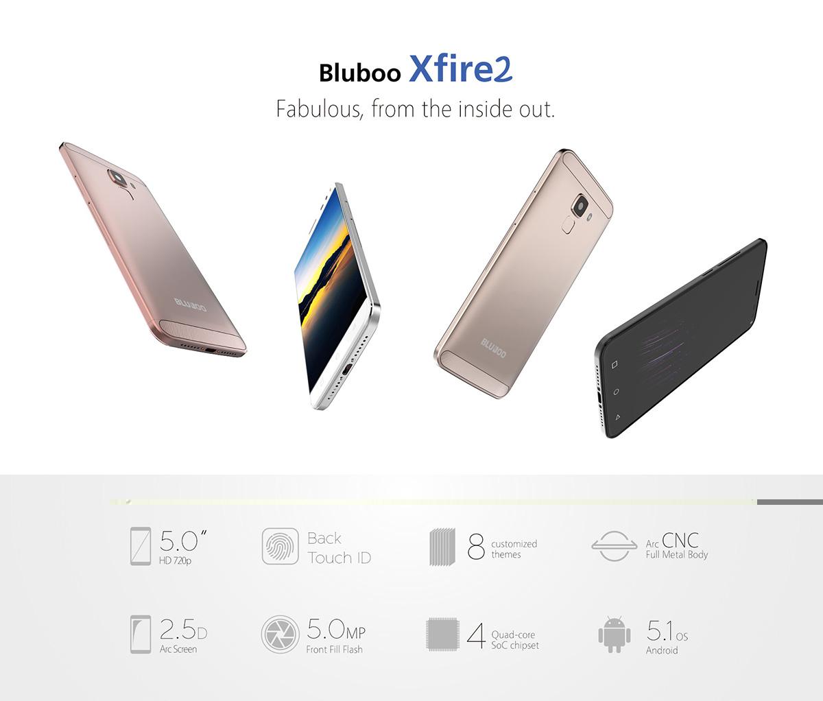Bluboo Xfire 2 e Xfire 2S tri-SIM disponibili a febbraio