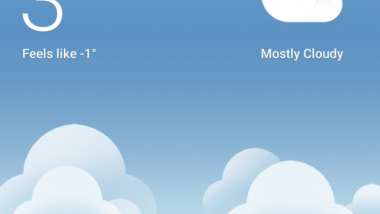 Google prova una nuova interfaccia meteo