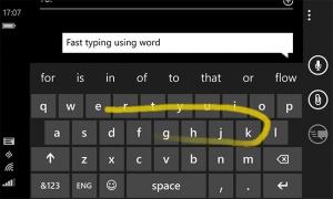 Tastiera Word Flow