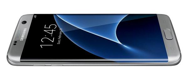 Galaxy S7 Edge si mostra in un look tutto grigio!