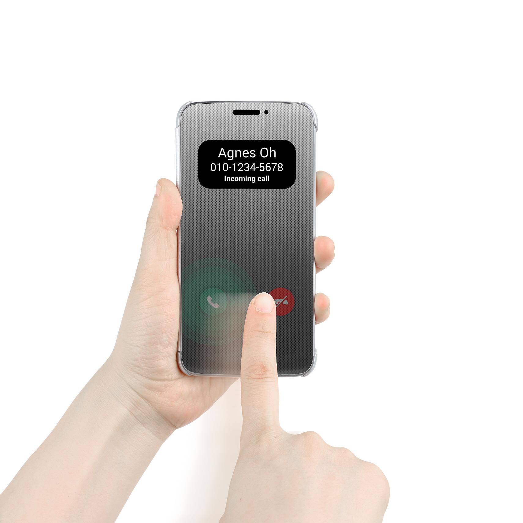 LG mostra la Quick Cover sensibile al tocco per LG G5