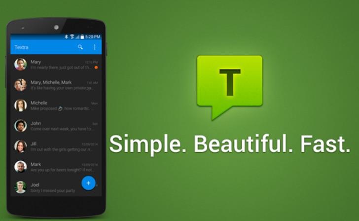 La nuova versione di Textra porta le Emoji anche sui device più vecchi