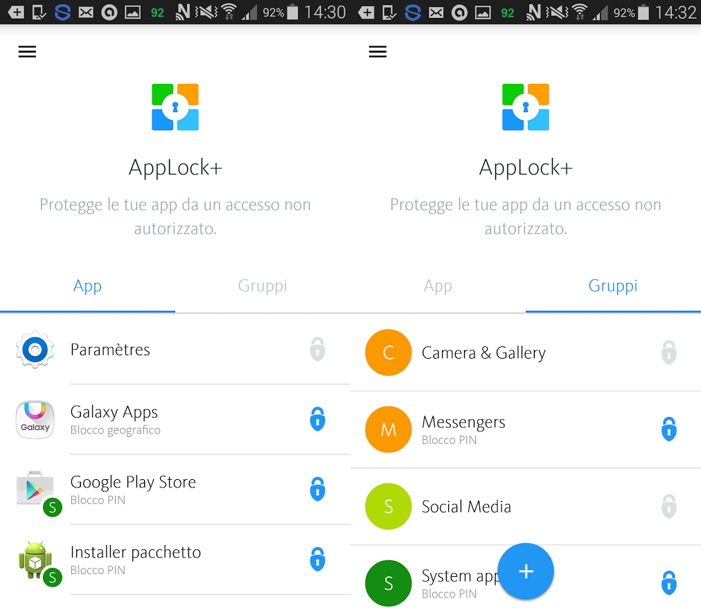AppLock+, ideale per bloccare acquisti in-app