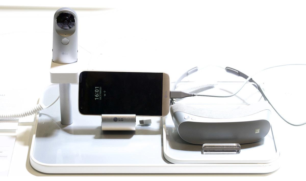 LG G5 ecco gli accessori
