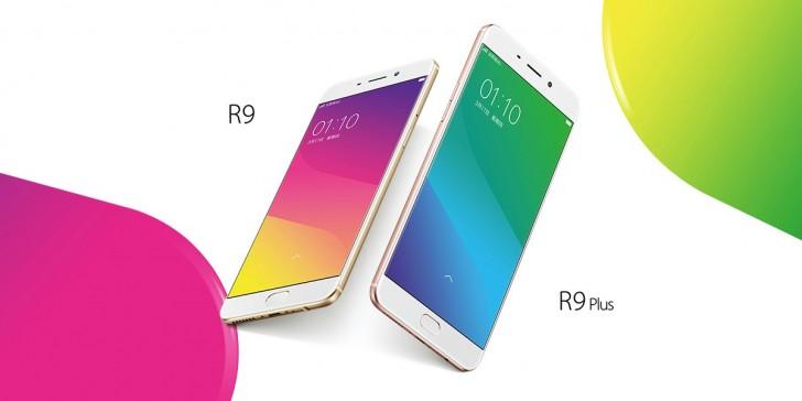 Oppo R9 e R9 Plus: 180.000 unità vendute nel primo giorno di disponibilità