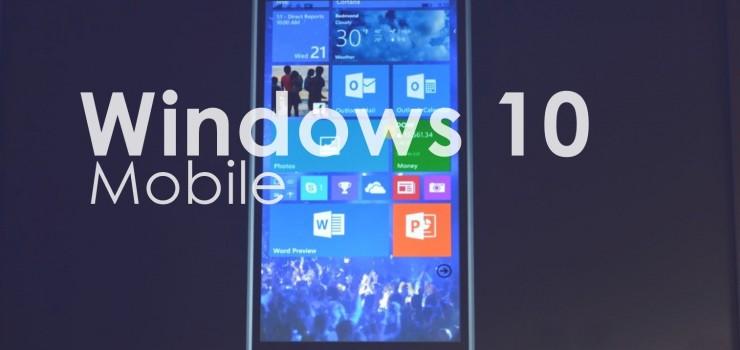 Windows 10 Mobile: i vecchi Lumia ricevono l'upgrade