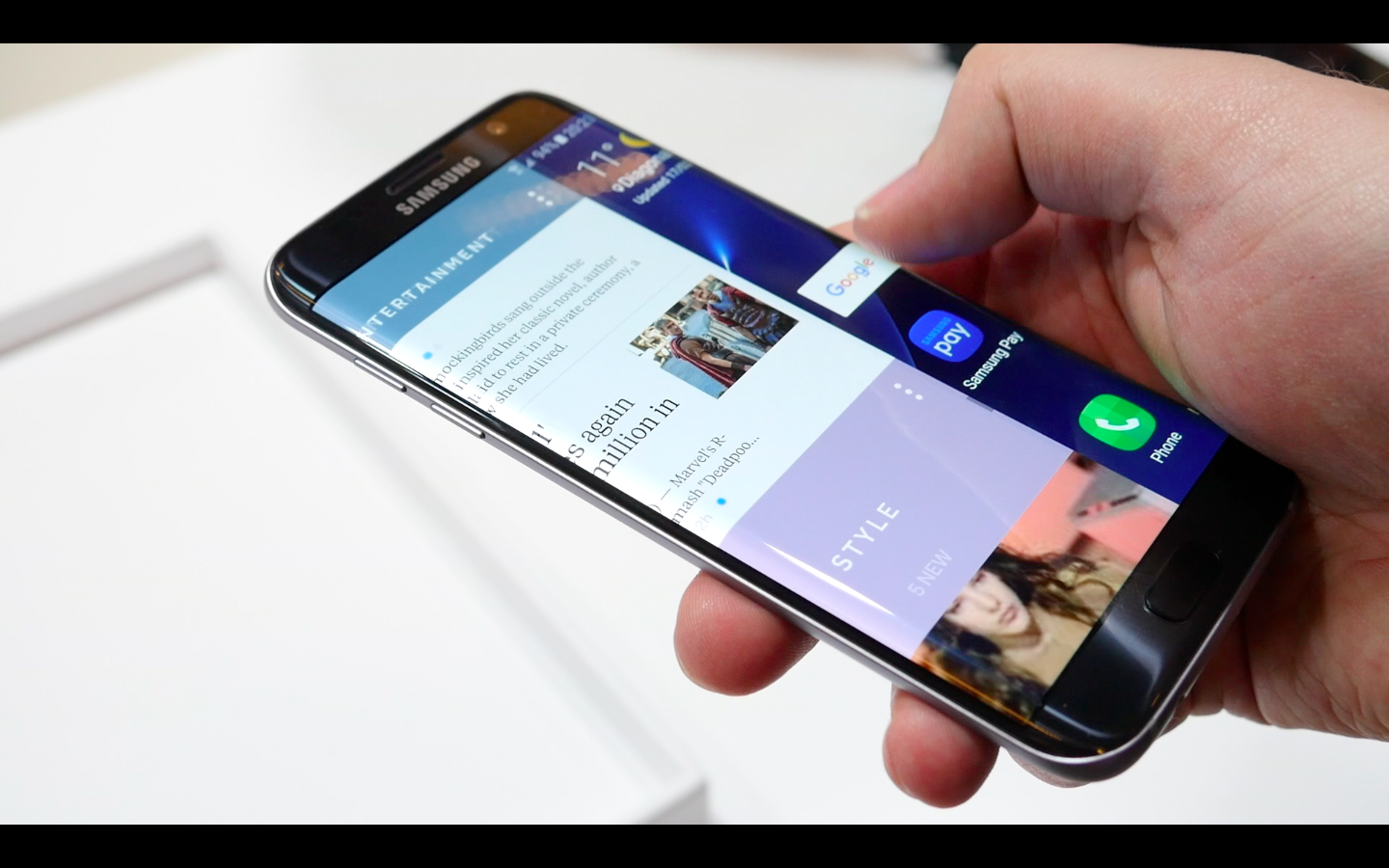 Samsung Galaxy S7: come realizzare uno screenshot multiplo