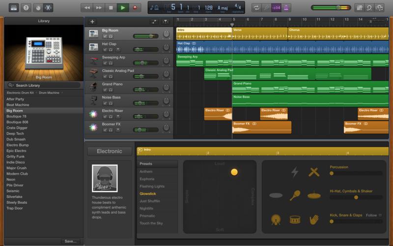 GarageBand si aggiorna nella versione per Mac: introdotti 2600 loops e suoni inediti