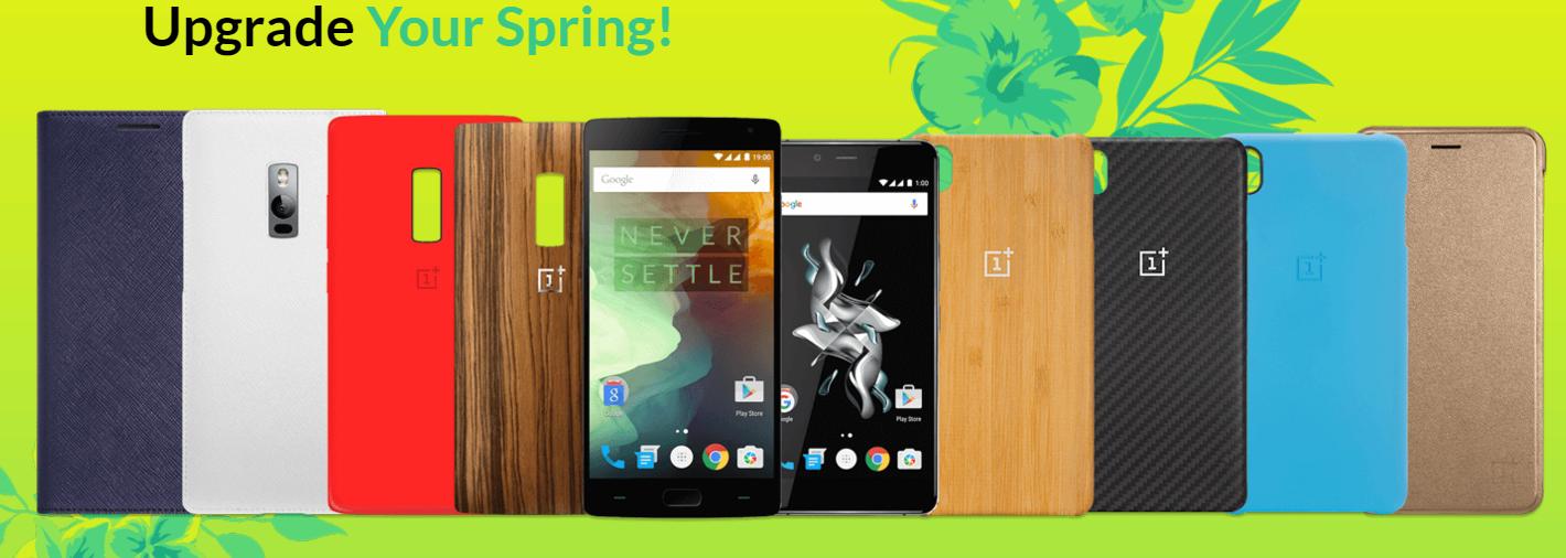OnePlus 2 e X: acquistandoli riceverai una cover StyleSwap in omaggio