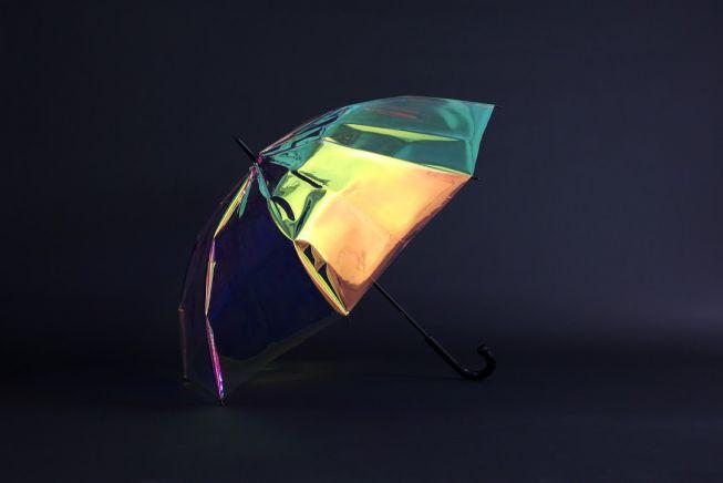 Oombrella, il primo ombrello intelligente che fornisce dati meteorologici