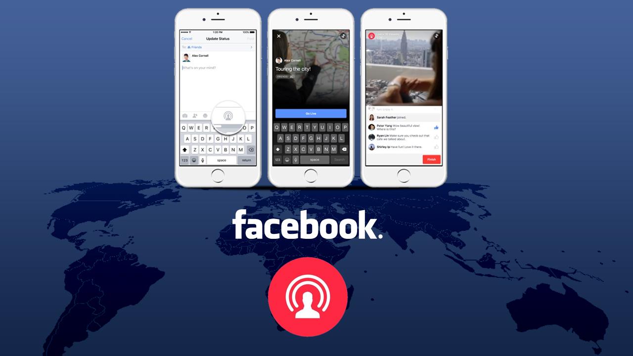 Come fare una video diretta su Facebook