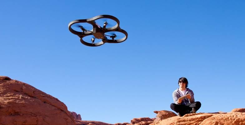 Parrot AR drone 2.0 app