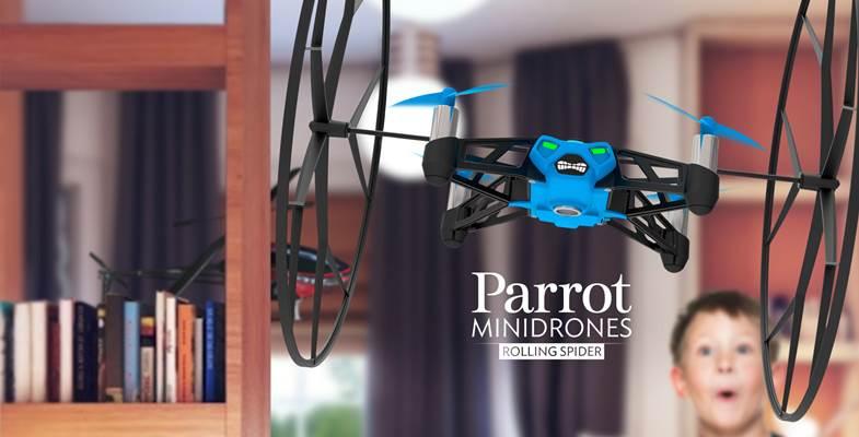 Parrot Rolling Spider: caratteristiche e prezzi