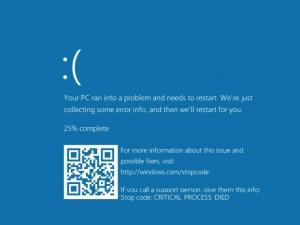 Windows 10, le schermate di crash integrano i codici QR
