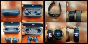 Samsung Gear Fit 2 e Gear Icon X: le prime immagini ufficiali