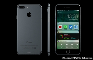 Ecco iPhone 7 con a bordo iOS 10
