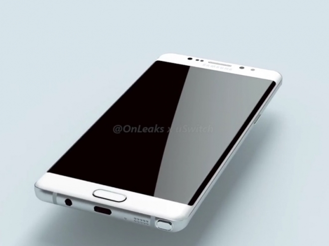 Samsung Galaxy Note 7 in una prima foto leaked