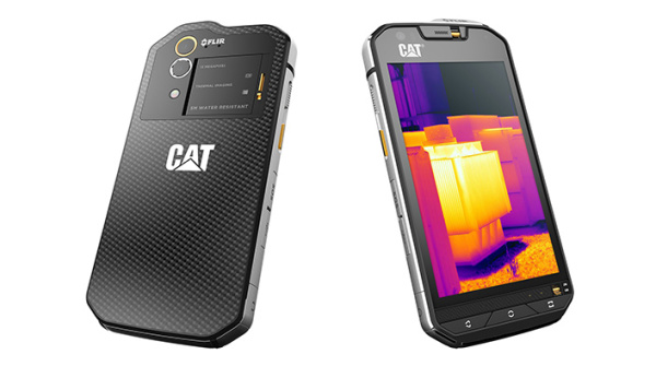CAT S60, arriva in Italia lo smartphone con fotocamera termica