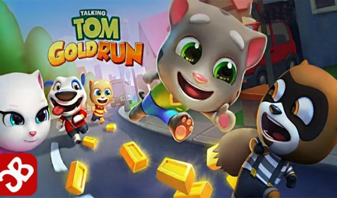 Arriva il nuovo Talking Tom Corsa all'oro, un endless runner frenetico e divertente