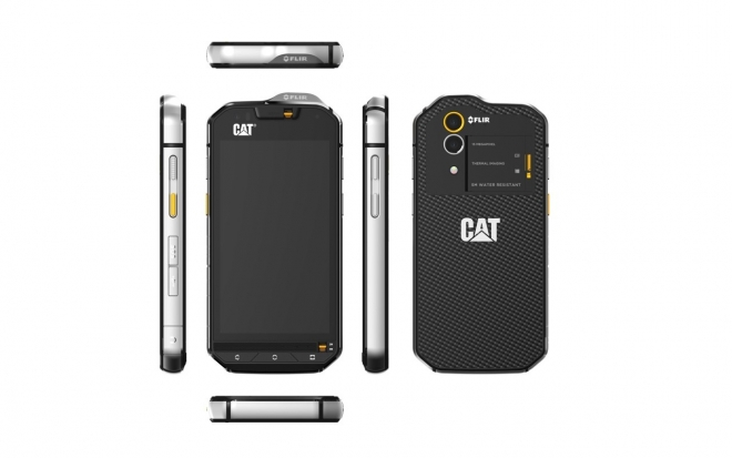 """Cat S60: lo smartphone """"forzuto"""""""