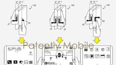 Samsung lavora ad un tablet flessibile?