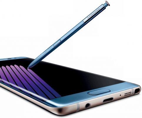 Galaxy Note 7 ed S-Pen nuova immagine ed un primo video