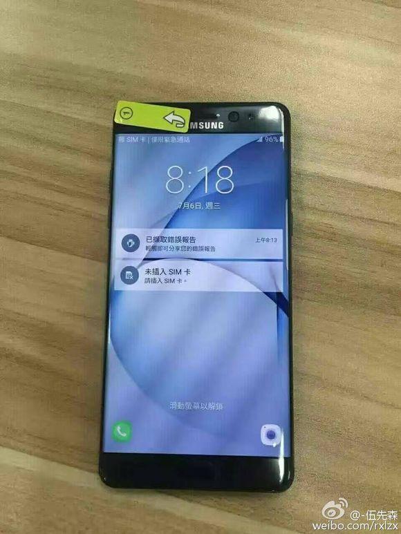 Altre foto del Samsung Galaxy Note 7