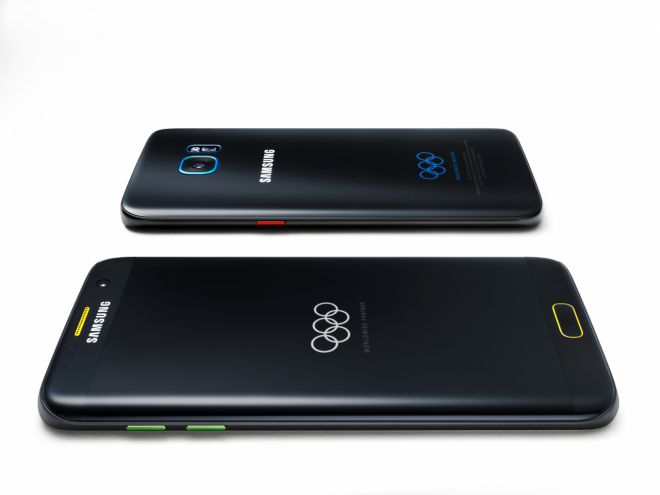 Samsung Galaxy S7 edge Olympic Games Limited Edition ufficiale