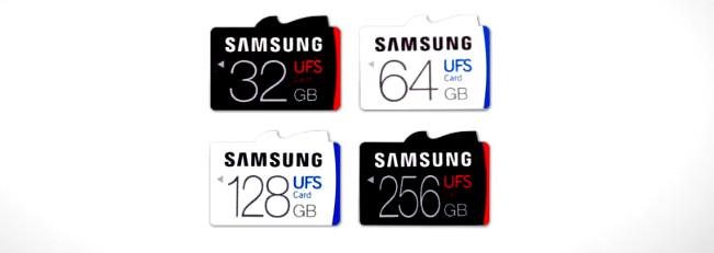 Samsung mostra le nuove Micro SD UFS