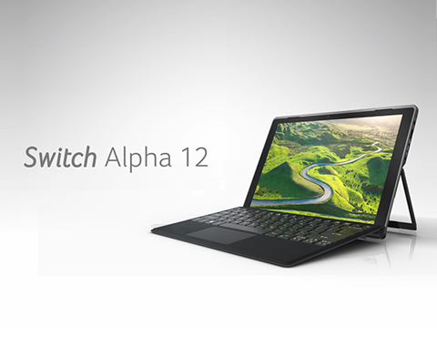 Il nuovo Tablet Acer Switch Alpha 12