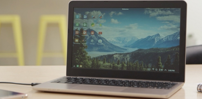 Da smartphone a laptop con Superbook