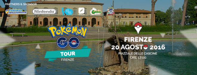 Raduni Pokémon Go: a Firenze e Bari 20 e 21 agosto