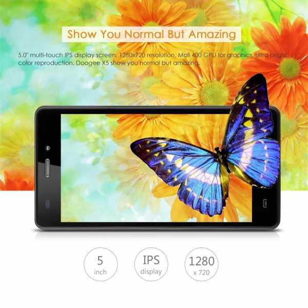 Smartphone a meno di 100€: DOOGEE X5 3G in offerta