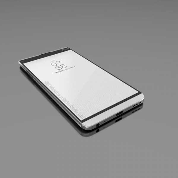 Svelato il design di LG V20? Forse, ecco i render